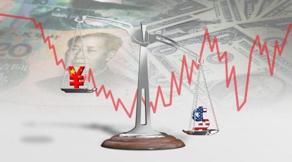 ارتفاع اليوان الصيني